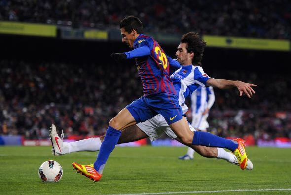 Barcelona ganaba pero necesitaba de un gol más para estar tranqui...