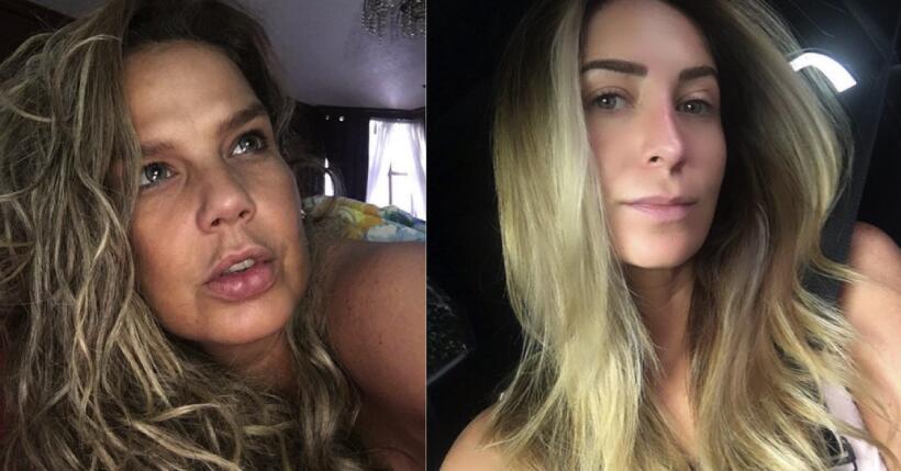 Niurka y Geraldine Bazán publicaron en su cuenta de Instagram var...