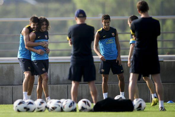 Pero las caras nuevas fueron las de jugadores como Gerard Piqué y Carles...
