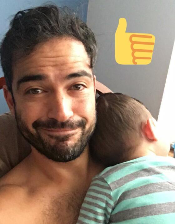 Poncho Herrera, de 'rebelde' a un papá orgulloso