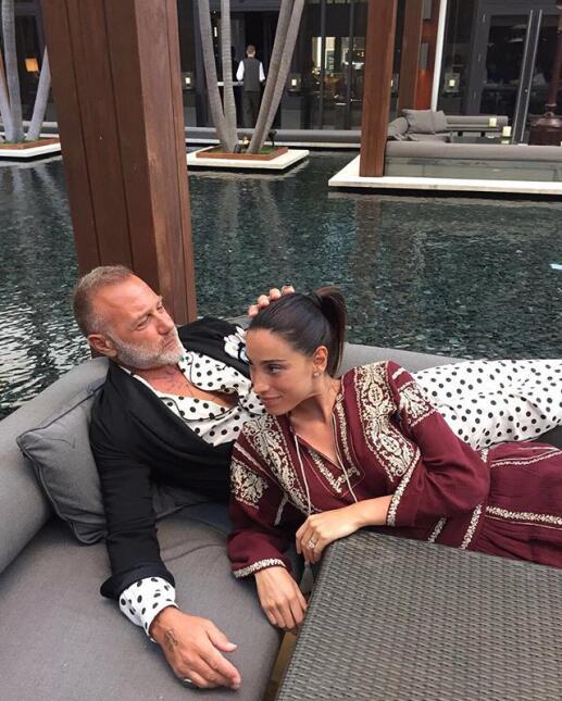 Ella es Giorgia Gabriele, la mujer que le robó el corazón a Gianluca Vac...
