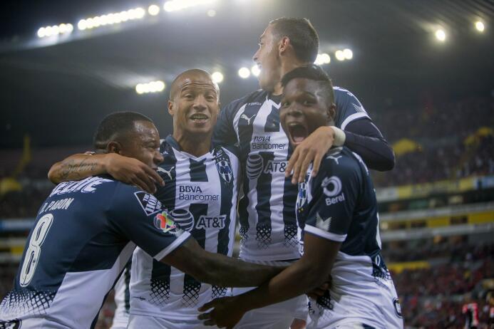 En Fotos: Monterrey impone su ley sobre Atlas en el juego de ida de los...