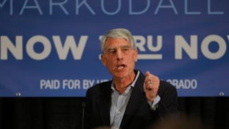 El senador demócrata por Colorado, Mark Udall, perdió las elecciones de...