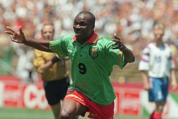Roger Milla, un símbolo de la selección de Camerún es otro que ha destac...