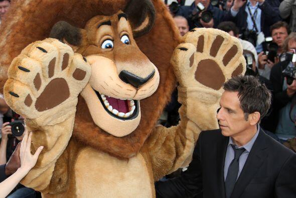 """La franquicia de animación """"Madagascar"""", en donde da voz a uno de los pe..."""