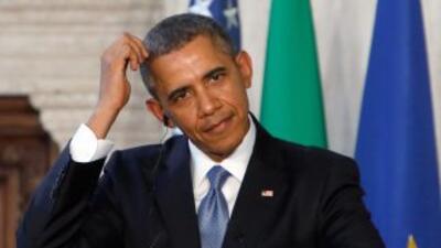 El presidente Barack Obama tiene en sus manos el futuro de 11 millones d...