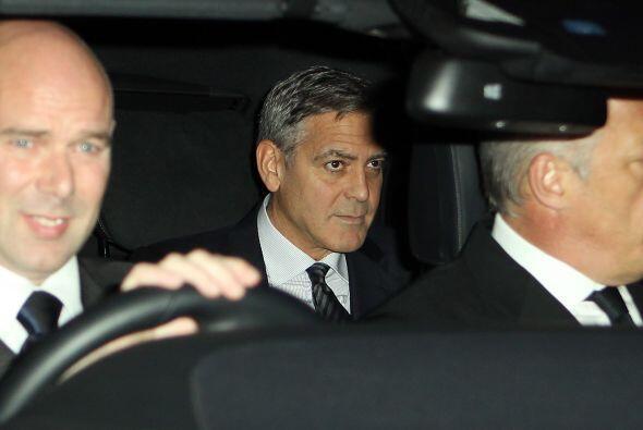 La fiesta era pagada por los padres de Amal. ¡Qué detalle!