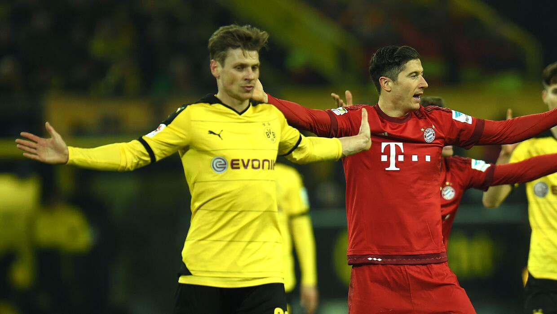 Dortmund y Bayern empataron