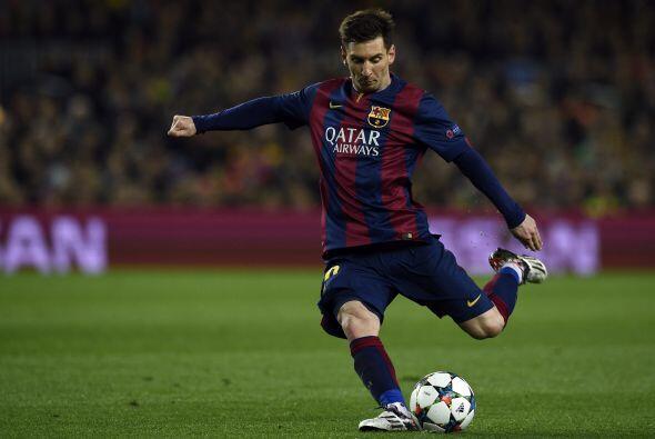 Lionel Messi fue otro de los elementos del Barcelona que tuvo oportunida...
