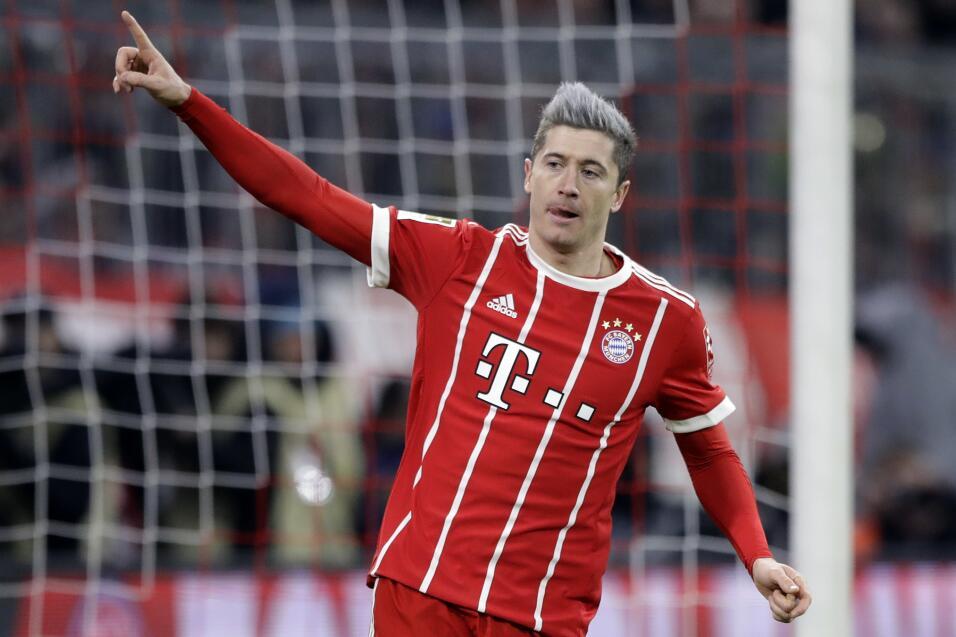 7. Robert Lewandowski (Bayern Múnich / Polonia)
