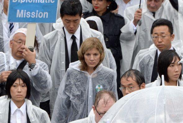 Destacó la asistencia de Caroline Kennedy, embajadora de EEUU en Japón.