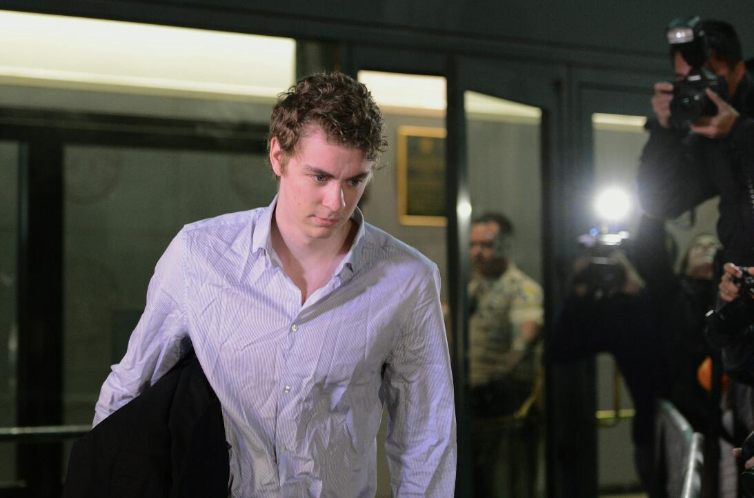 Brock Turner, el exestudiante de Stanford condenado por agresión sexual,...
