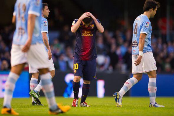 El BArcelona dejó escapar dos puntos, aunque sigue cómodo como líder.