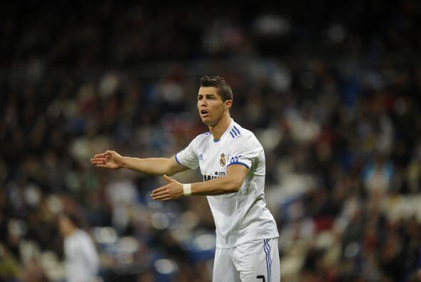Cristiano Ronaldo había tenido algunas oportunidades de cara al marco ri...