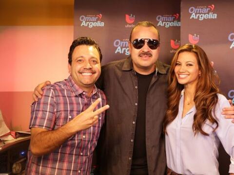 Pepe Aguilar nos acompañó esta mañana con Omar y Ar...