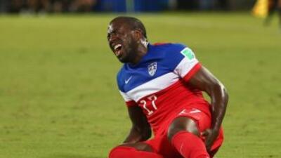 El delantero sigue sin recuperarse por completo de la lesión sufrida en...
