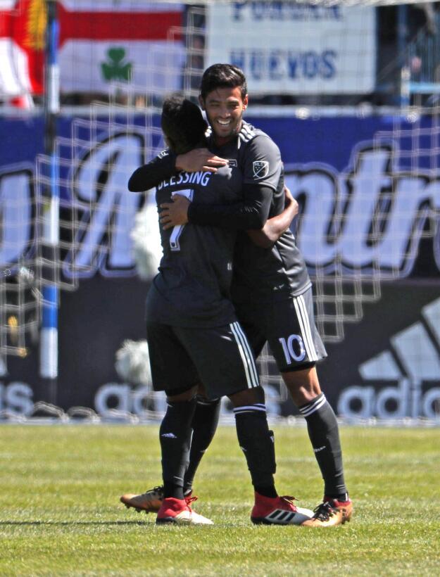 Carlos Vela: el delantero del Tri llegó a cinco goles en la MLS con Los...