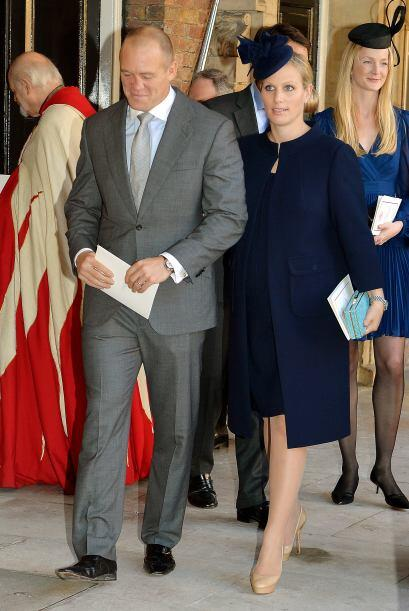La única integrante de la Familia Real en ser elegida madrina fue Zara P...