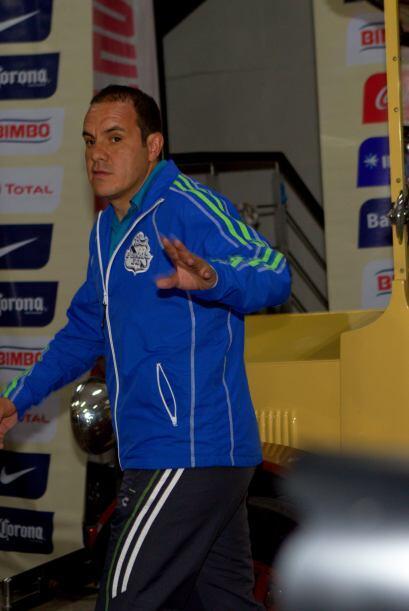 Cuauhtémoc Blanco volvió a su casa de siempre, el Estadio...
