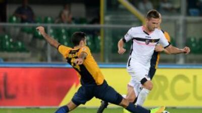 Rafa Márquez con Hellas Verona.