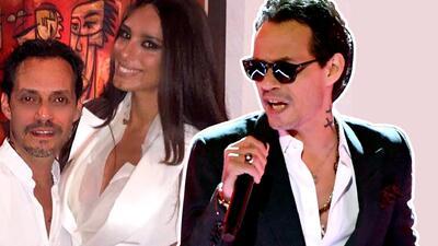 Marc Anthony le canta y le baila a su novia en pleno concierto