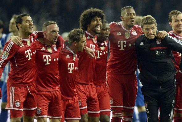 Nunca antes un club se había alzado con el título de la Bundesliga tan t...
