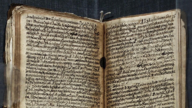 """Este manuscrito de Luis de Carvajal, """"El Mozo"""", será exhibido..."""