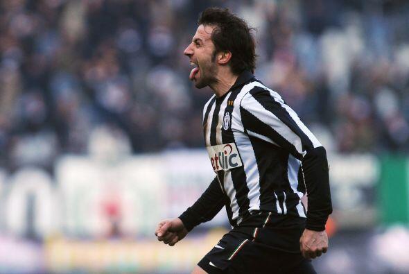 El eterno Alessandro del Piero puso en ventaja a los 'bianconeri'.