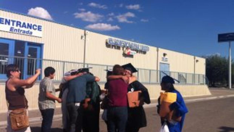 Hace un año durante la liberación de los Dream9 del Centro de Detención...