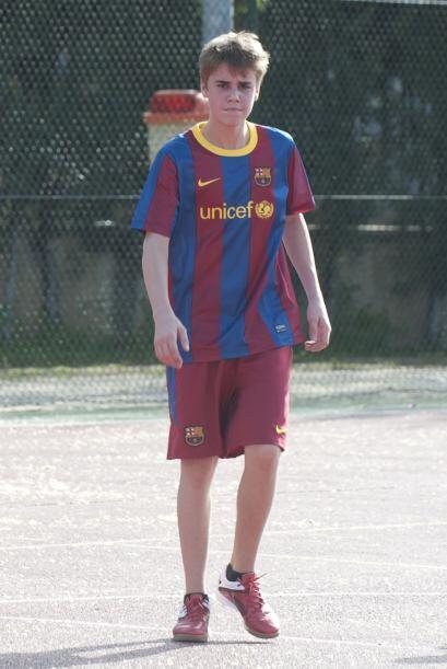 La afición al equipo del momento, el Barcelona, parece no tener límites....