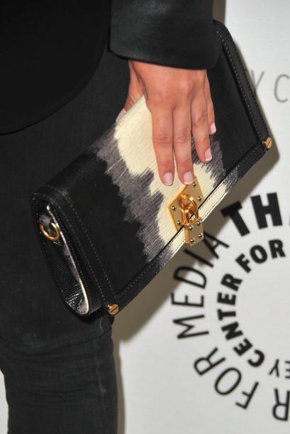 También han servido como adorno es costosas y elegantes carteras de mano...
