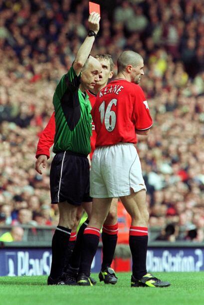 Una entrada imborrable fue la de Roy Keane a Haaland en abril del 2001....