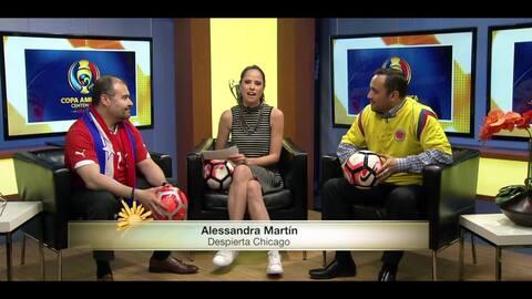 Fans de Chile y Colombia comparten su opinión antes del encuentro