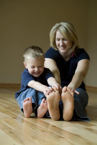 Siempre está inventado algo, conversando, es la eterna amiga de sus hijo...