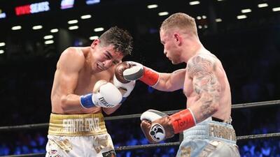 Imágenes: Carl Frampton derrotó a Leo Santa Cruz y Mikey García a Elio Rojas