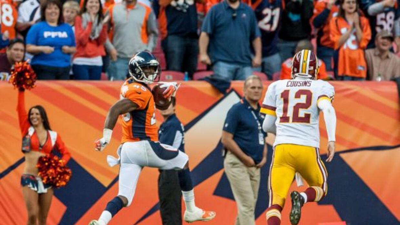 El esquinero de Broncos se llevó las palmas en la Semana 8.
