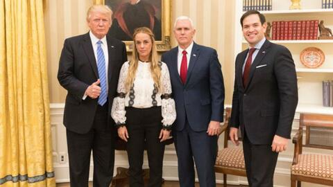 Donald Trump pone su atención en la situación de Venezuela y anuncia acc...