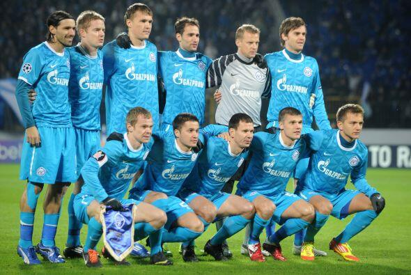Su rival, el Zenit, alcanzó a colarse como segundo lugar del sector G.
