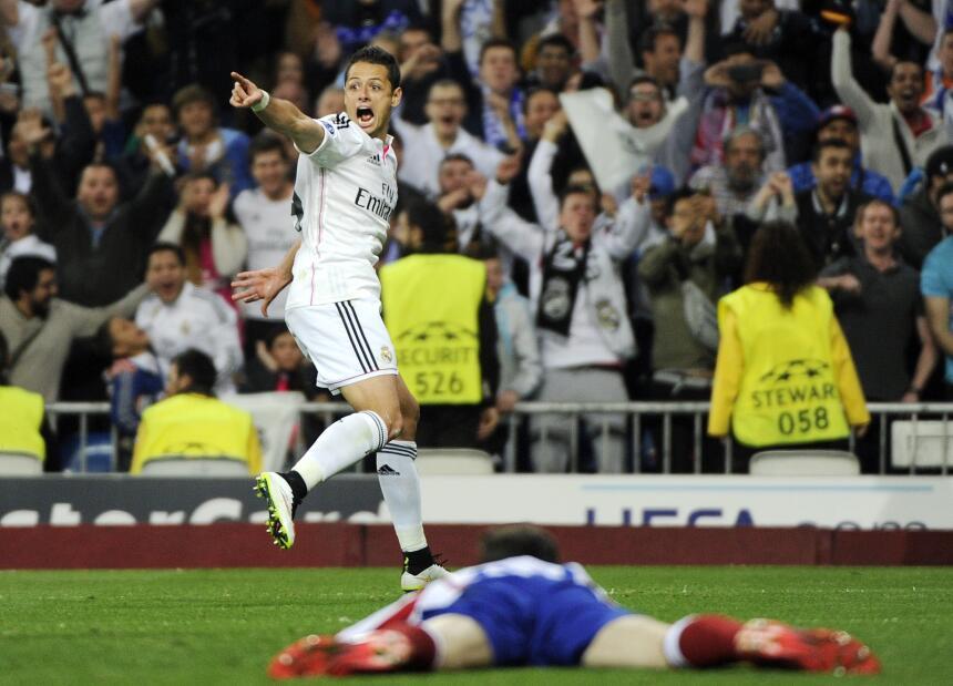 Javier Hernández, de la pesadilla con el Real Madrid al júbilo con el Ba...