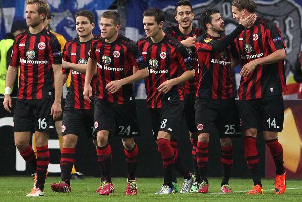 El Eintracht Frankfurt también sonó como destino futbolístico de Fabián...