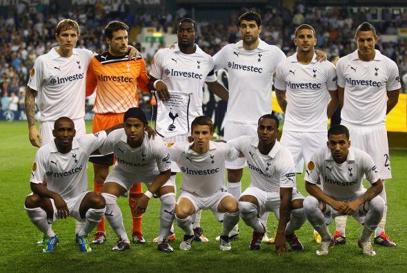 Se jugaba la segunda fecha de la Liga Europa y Tottenham recibía...