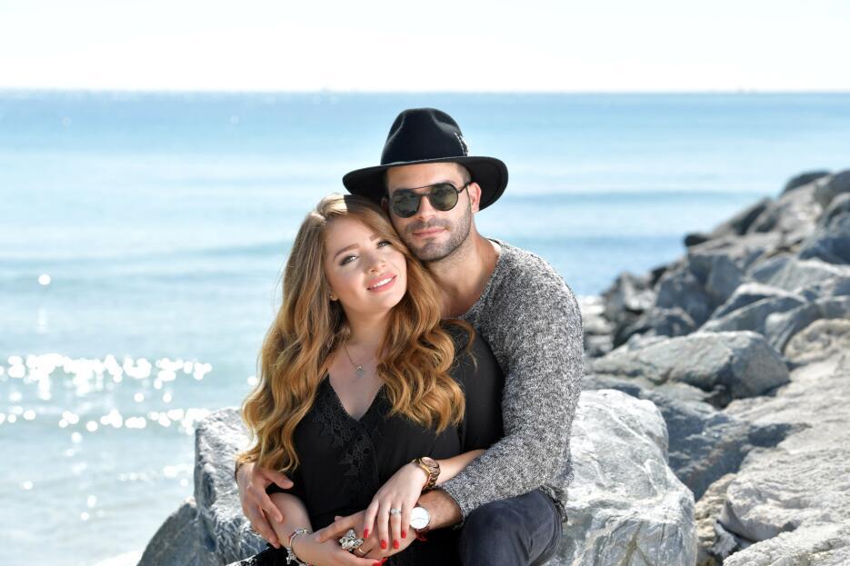Sandra Itzel y Adrián Di Monte