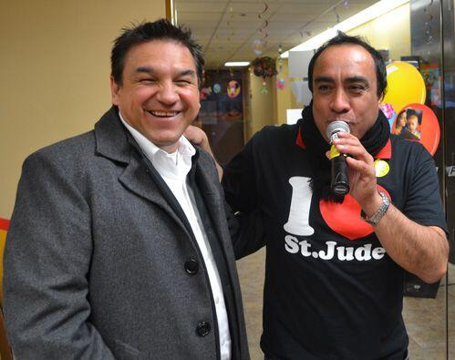 Matías de Aragon Music Hall, Javier Ríos de 'Los Invasores', Chayo de 'L...