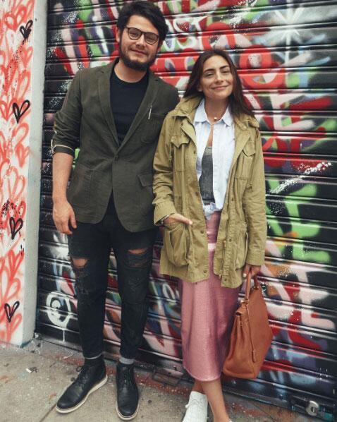 Ana Brenda Contreras y su hermano