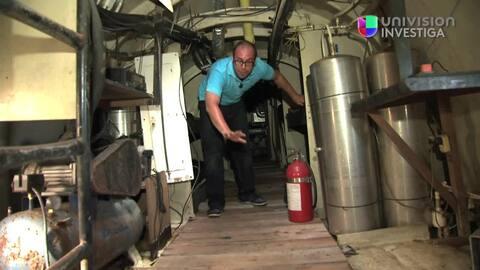 Los submarinos usados por el Chapo Guzmán