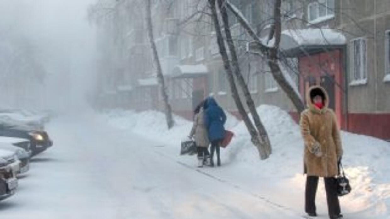 Un ola de frío polar hará caer las temperaturas hasta los 50 grados bajo...