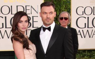 Brian Austin Green presume a su familia con Megan Fox