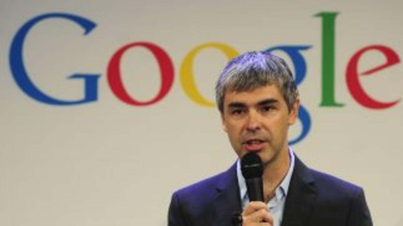 """Larry Page,consejero delegado deGoogle,informó en un comunicado que """"..."""