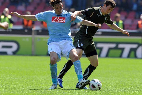 Tras jugarse el 'derby' de Milan, se disputó el resto de la jornada 31 e...