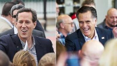 Según el conteo de la cadena CNN, Mitt Romney encabeza la lista de deleg...
